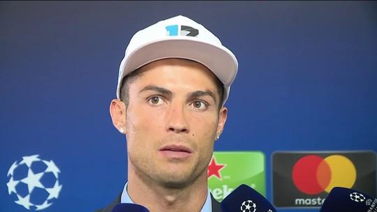 """CR7 nega que rumor sobre Neymar no Real o incomode: """"Tenho cinco Champions"""""""