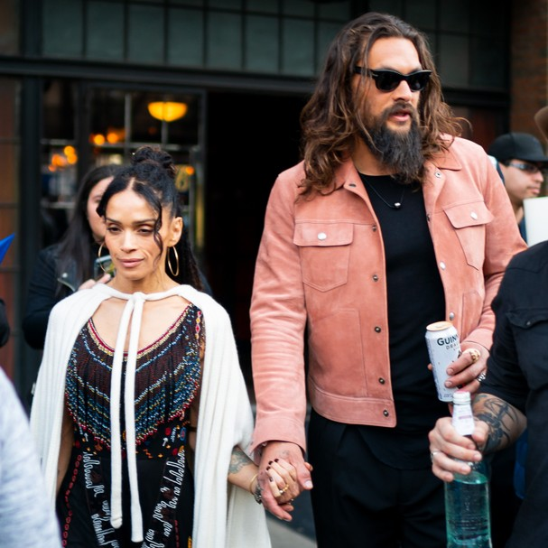 Jason Momoa e Lisa Bonet (Foto: Getty Images)