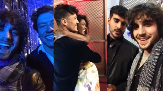 Fiuk mostra brincadeiras nos bastidores do 'Dança dos Famosos 2018' e a ansiedade dos participantes