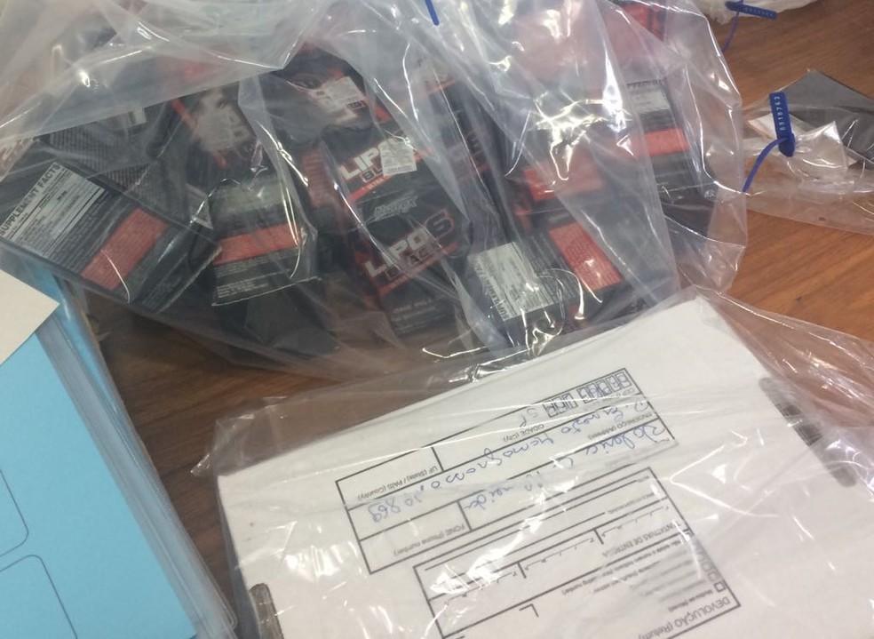 Medicamentos foram apreendidos (Foto: Divulgação/Polícia Federal)