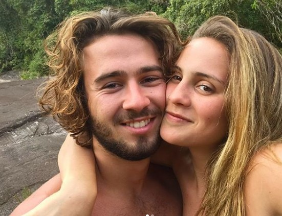 Luisa e o namorado, Matheus Faria (Foto: Reprodução Instagram)