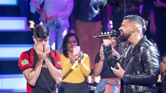Fã de Dilsinho fala sobre emoção de participar do 'Essa Música é Minha': 'Me motivou mais ainda'