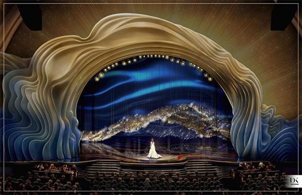 Palco do Oscar 2019 é revelado pelo designer David Korins (Foto: Instagram/ Reprodução)