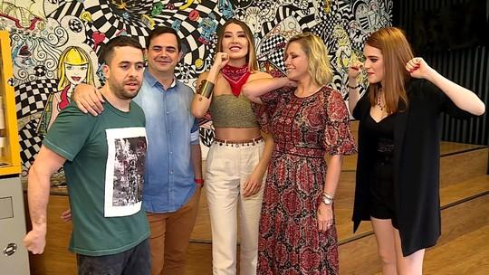 Ana Clara, Mônica Salgado, Márvio Lúcio e Maurício Meirelles participam do 'Ding Dong'
