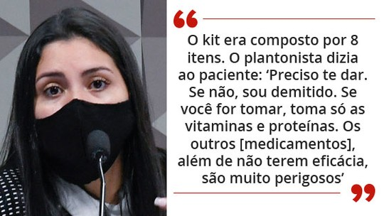 Foto: (https://g1.globo.com/politica/cpi-da-covid/noticia/2021/09/28/cpi-advogada-diz-que-prevent-e-medicos-do-gabinete-paralelo-fizeram-pacto-pro-hidroxicloroquina-para-evitar-lockdown.ghtml)