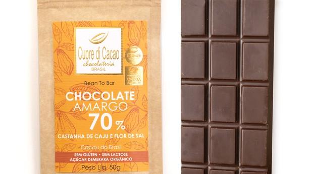 Barra de chocolate (Foto: Divulgação)