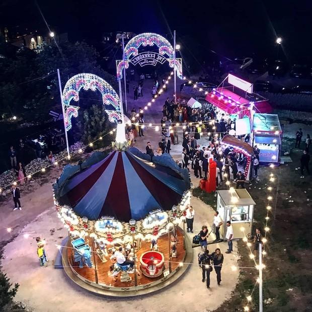 O parque de diversões dos #TheFerragnez (Foto: Reprodução/ Instagram)