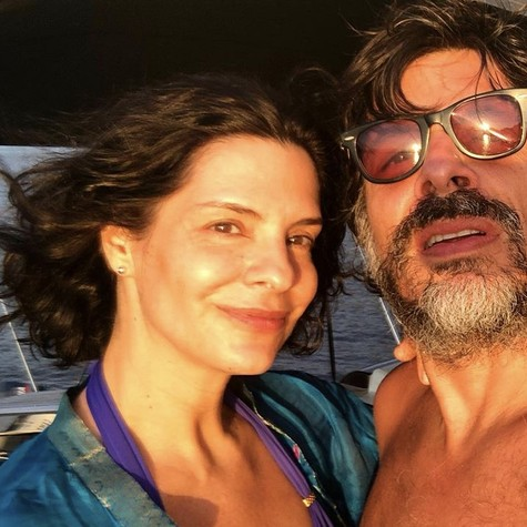 Helena Ranaldi e o marido, Daniel Alvim (Foto: Reprodução/ Instagram)
