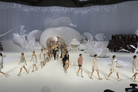 Chanel ready-to-wear, verão 2013: no fundo do mar