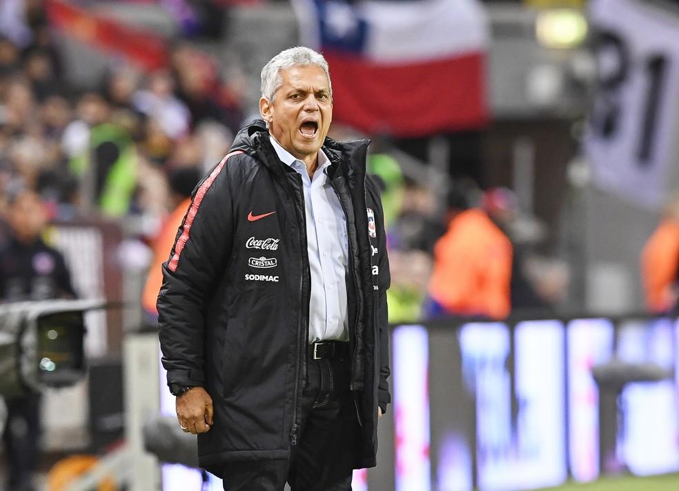 Rueda deixou o Flamengo e até já estreou no comando da seleção chilena (Foto: Efe)