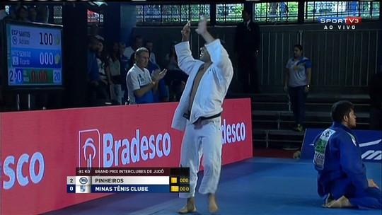 Pinheiros conquista GP interclubes, representa o Brasil e derrota Portugal