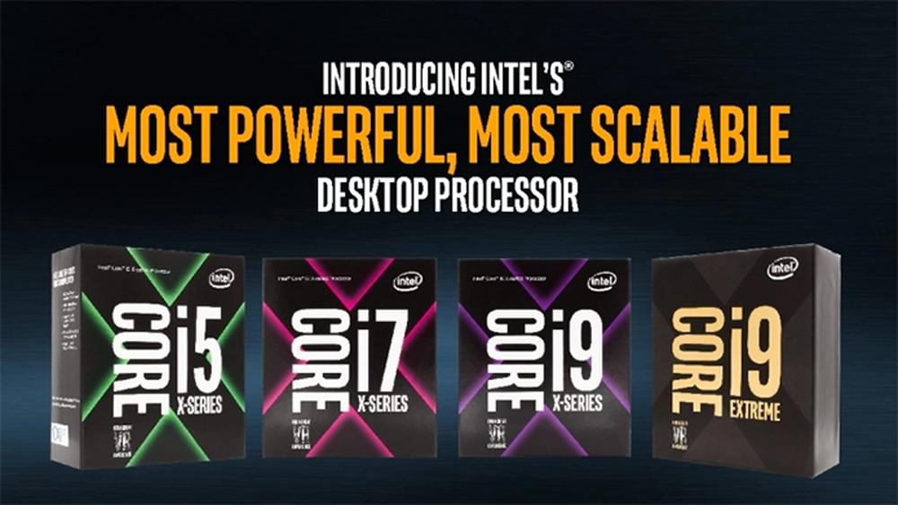 📷 Série X não se restringe ao i9, há versões do Core i7 Core i5 | Divulgação