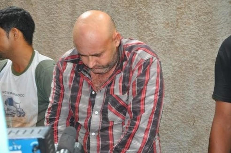 David Aparecido Coelho de Araújo foi preso em São José do Rio Claro - Foto: Polícia Civil de Mato Grosso/Divulgação