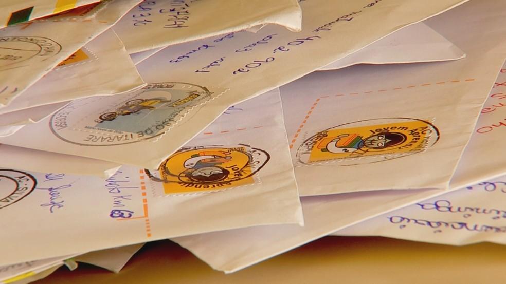 Agência Filatélica - que atende colecionadores de selos, será fechada — Foto: Reprodução/TV TEM