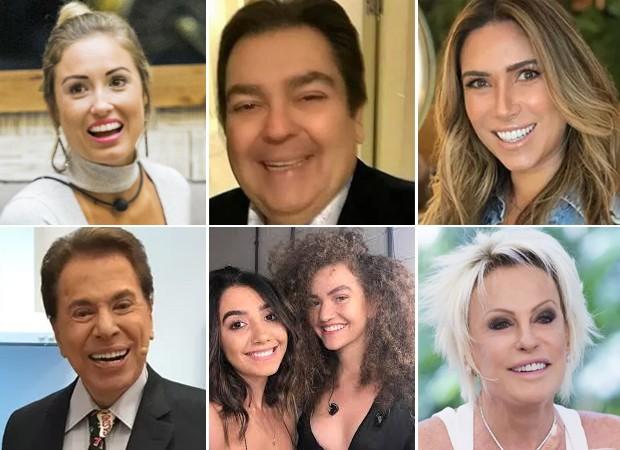 Personalidades que jálevaram tombos na TV (Foto: Divulgação)