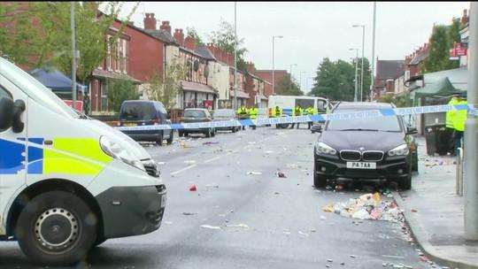Tiroteio durante festa de carnaval em Manchester deixa feridos