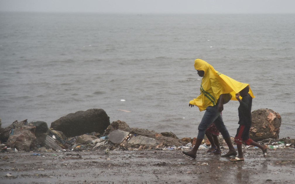 Furacão Irma deve atingir o Haiti nas próximas horas (Foto: Hector Retamal/AFP)