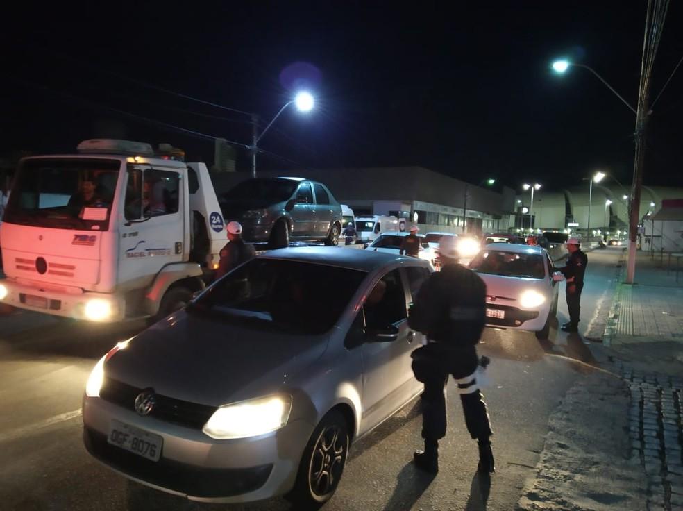 Operação da Lei Seca abordou quase dois mil motoristas em Natal e Mossoró, no fim de semana. — Foto: Lei Seca/Divulgação