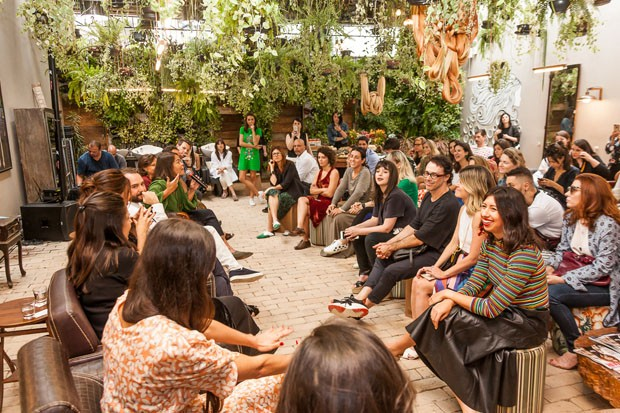 Especialistas em sustentabilidade se reúnem no lançamento do Prêmio Muda (Foto: David Mazzo)