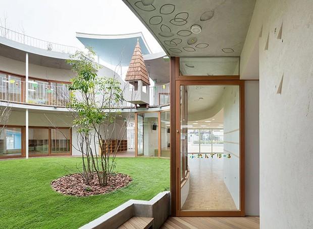 As casinhas no primeiro andar possuem diferentes formatos (Foto: MAMM Design/ Divulgação)