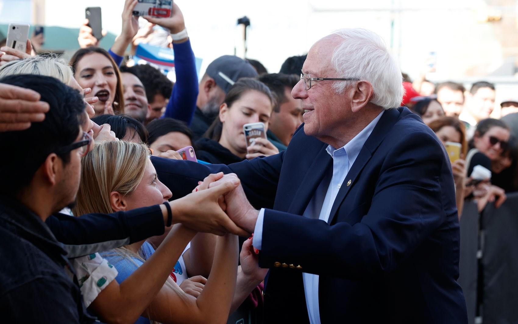Bernie Sanders lidera início de apuração de caucus democrata em Nevada