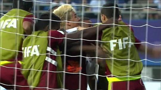 Sub-20 da Venezuela dá um chute na crise para buscar maior feito do país no futebol