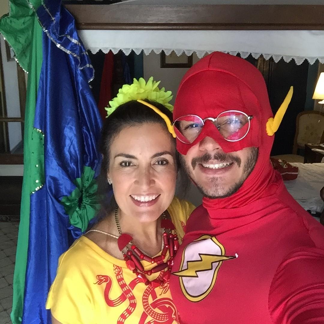 Fatima Bernardes e Tulio Gadelha (Foto: Reprodução/Instagram)