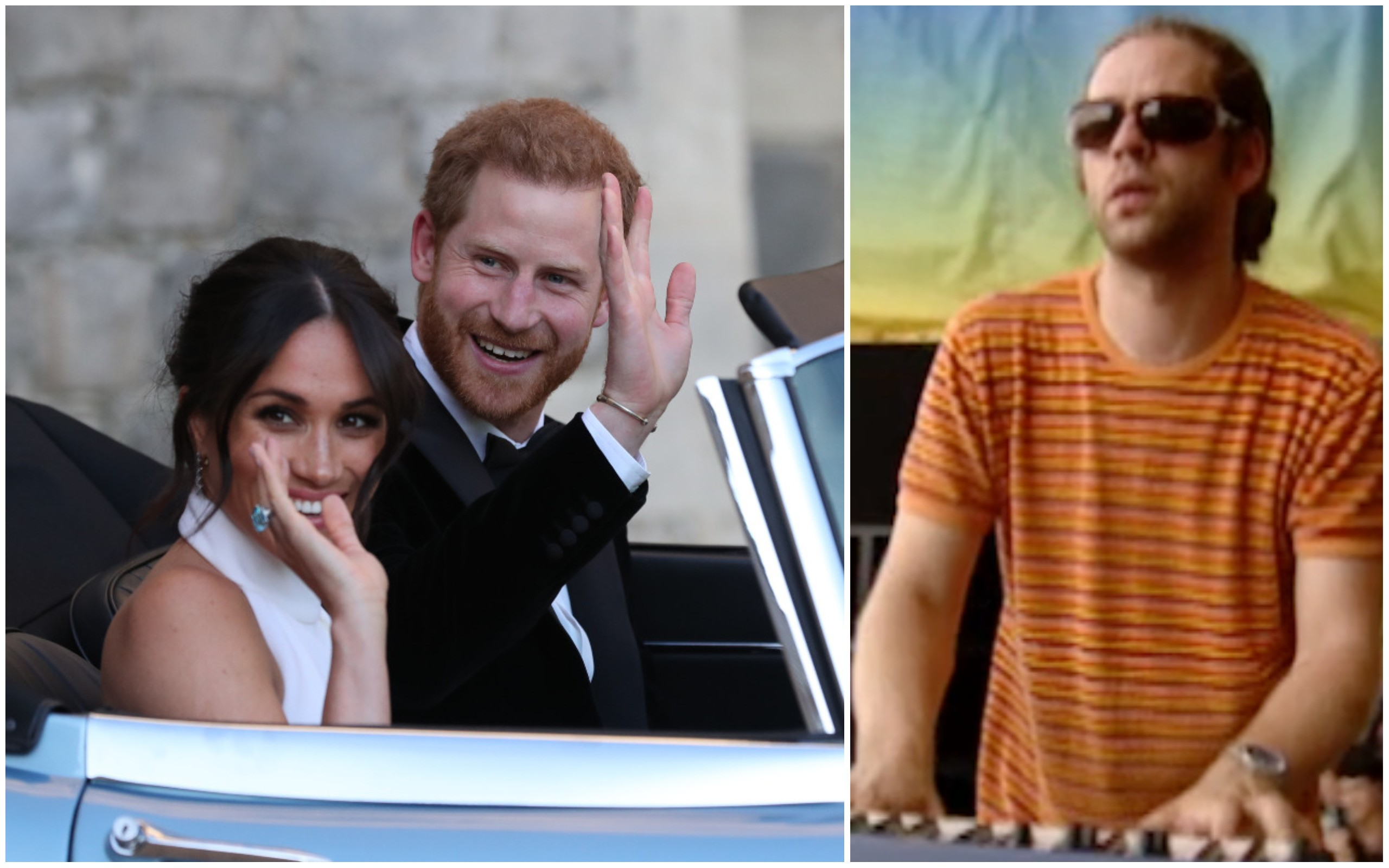 Príncipe Harry e Meghan Markle / Toby Grafftey-Smith (Foto: Getty Images / Reprodução)