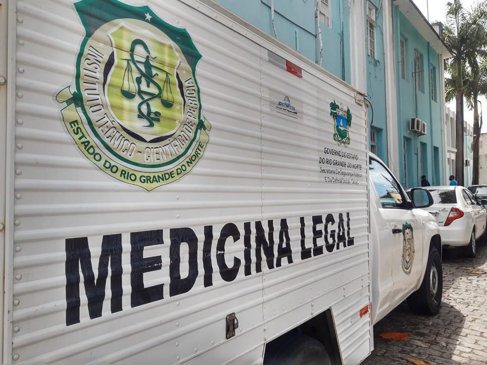 Instituto Técnico-Científico de Perícia do Rio Grande do Norte faz coleta de DNA durante campanha nacional — Foto: Lucas Cortez/Inter TV Cabugi