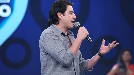 Bruno De Luca comenta volta ao 'Domingão' e relembra estreia no programa quando tinha 11 anos