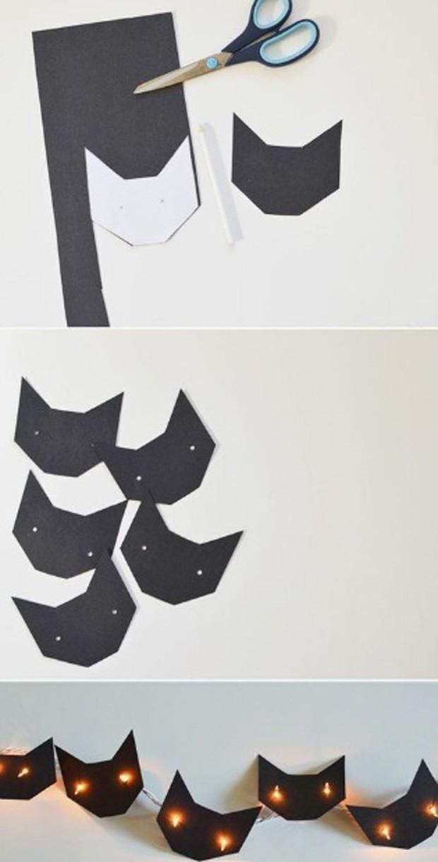 Halloween: Gatos na decoração (Foto: Pinterest/Reprodução)