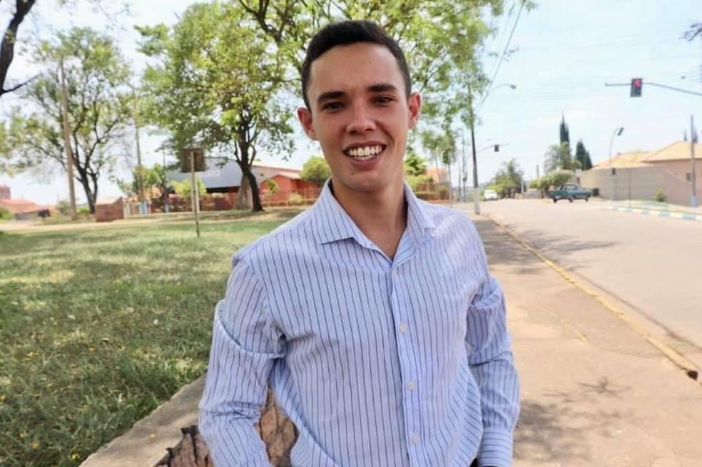 Júlio Tomazela (PSDB) foi eleito prefeito de Conchas (SP) — Foto: Arquivo Pessoal