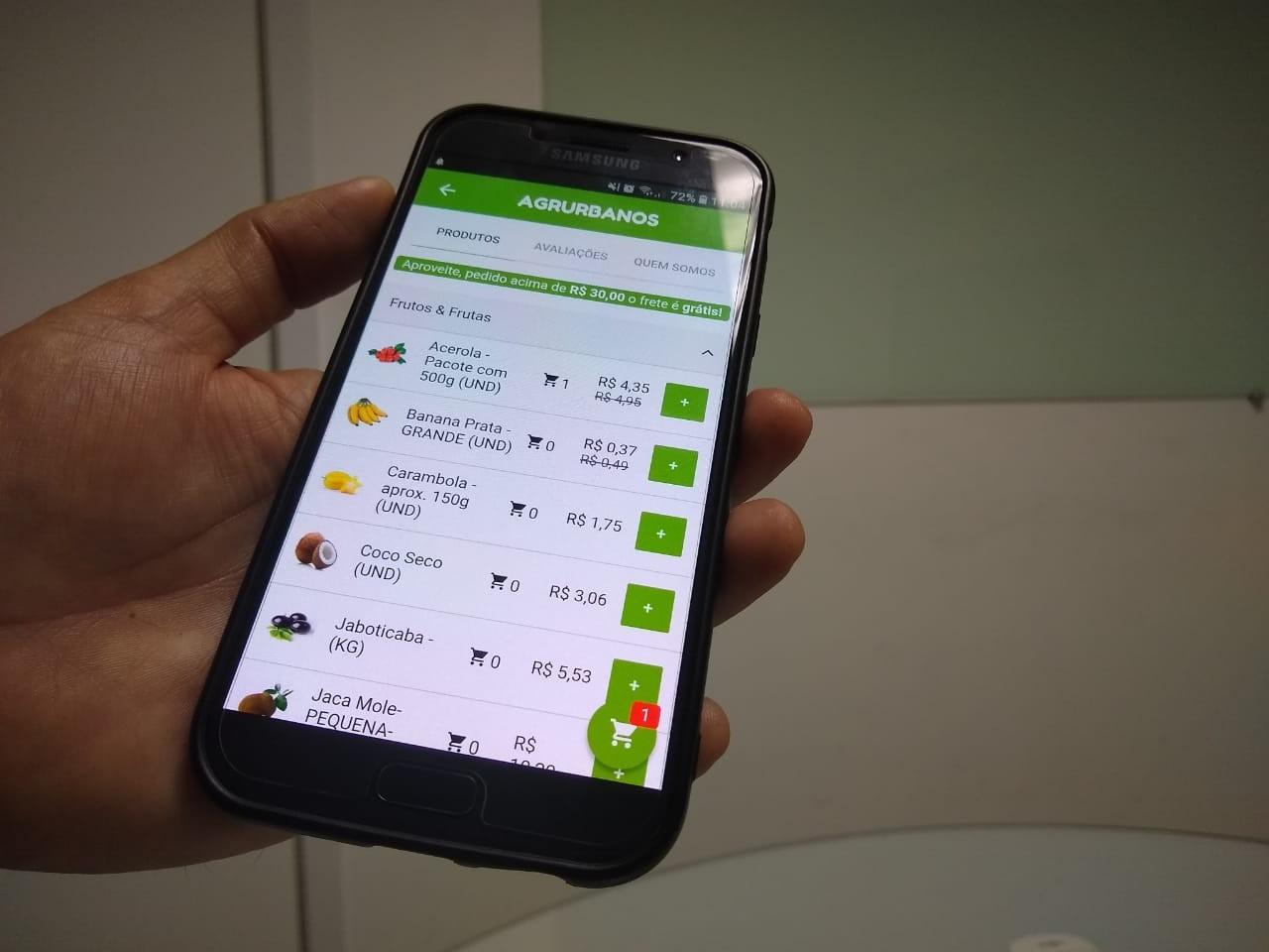 Aplicativo conecta produtores de  orgânicos a consumidores em Natal