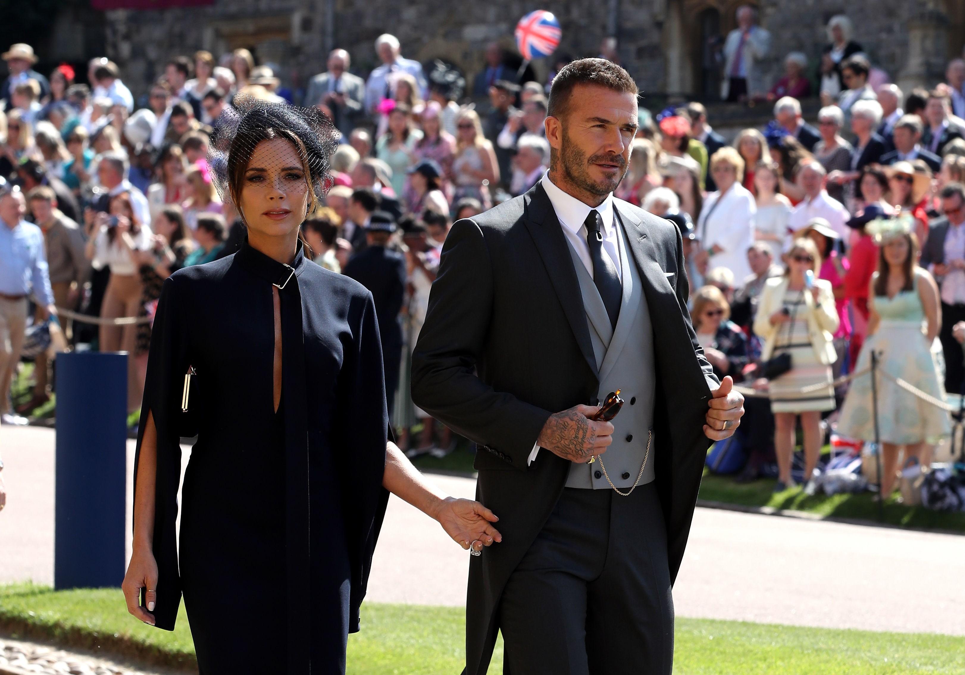 O casal composto pela cantora Victoria Beckham e o ex-jogador de futebol David Beckham (Foto: Getty Images)