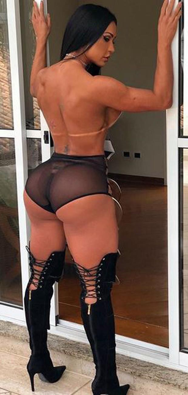 Gracyanne Barbosa exibe bumbum sarado em suas redes sociais (Foto: Reprodução/Instagram)