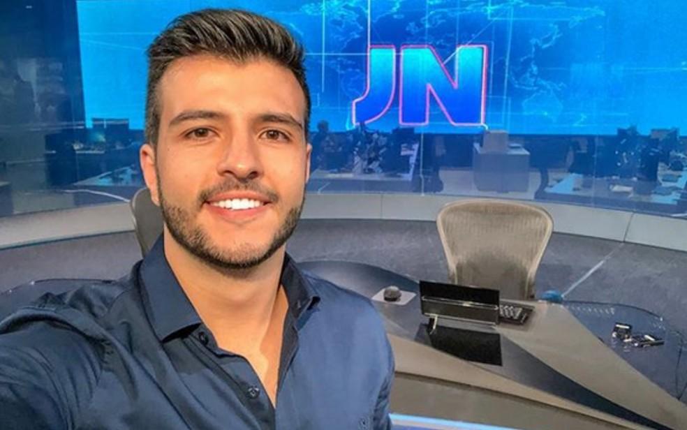 Globo define data em que Matheus Ribeiro vai apresentar Jornal ...