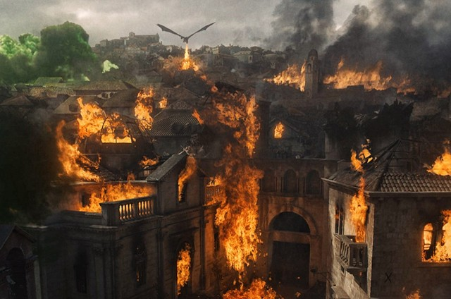 Cena de 'Game of thrones' (Foto: HBO)