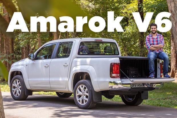 Vídeo: Volkswagen Amarok V6 (Foto: Marcos Camargo / Autoesporte)