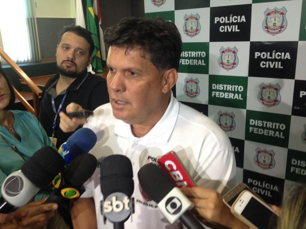 O delegado Robson Rui, em entrevista (Foto: Bianca Marinho/G1)