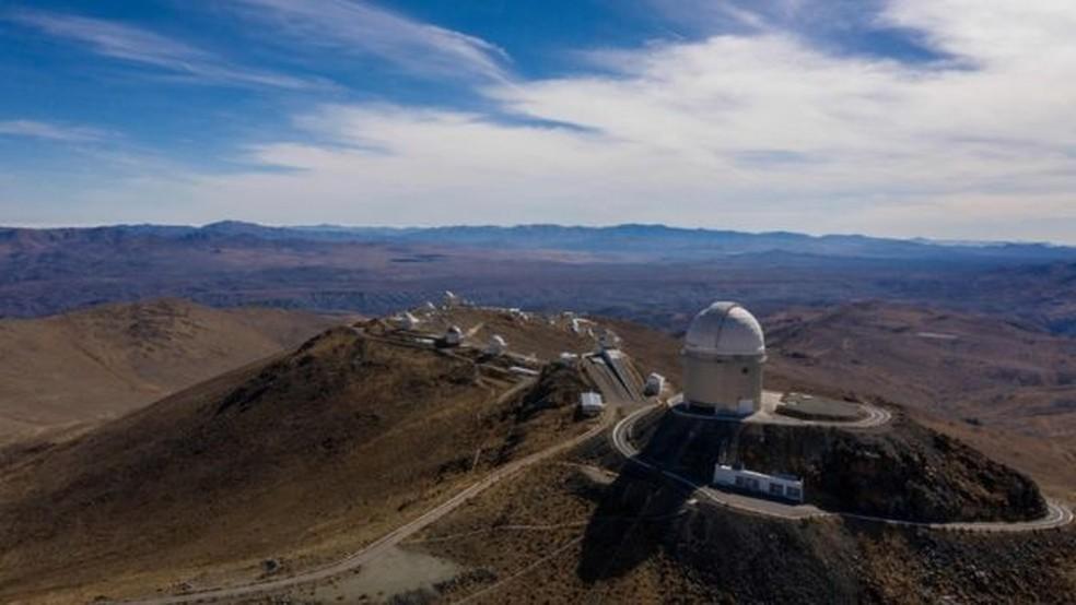 Ambos planetas foram encontrados por um instrumento do Observatório Europeu do Sul (ESO) em La Silla, no Chile — Foto: AFP/GETTY IMAGES/BBC