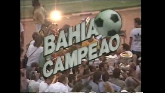 Internacional x Bahia - Campeonato Brasileiro 1988 - globoesporte.com