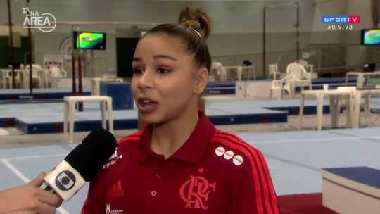 Flávia Saraiva fala sobre conquistas no Campeonato Brasileiro de ginástica artística
