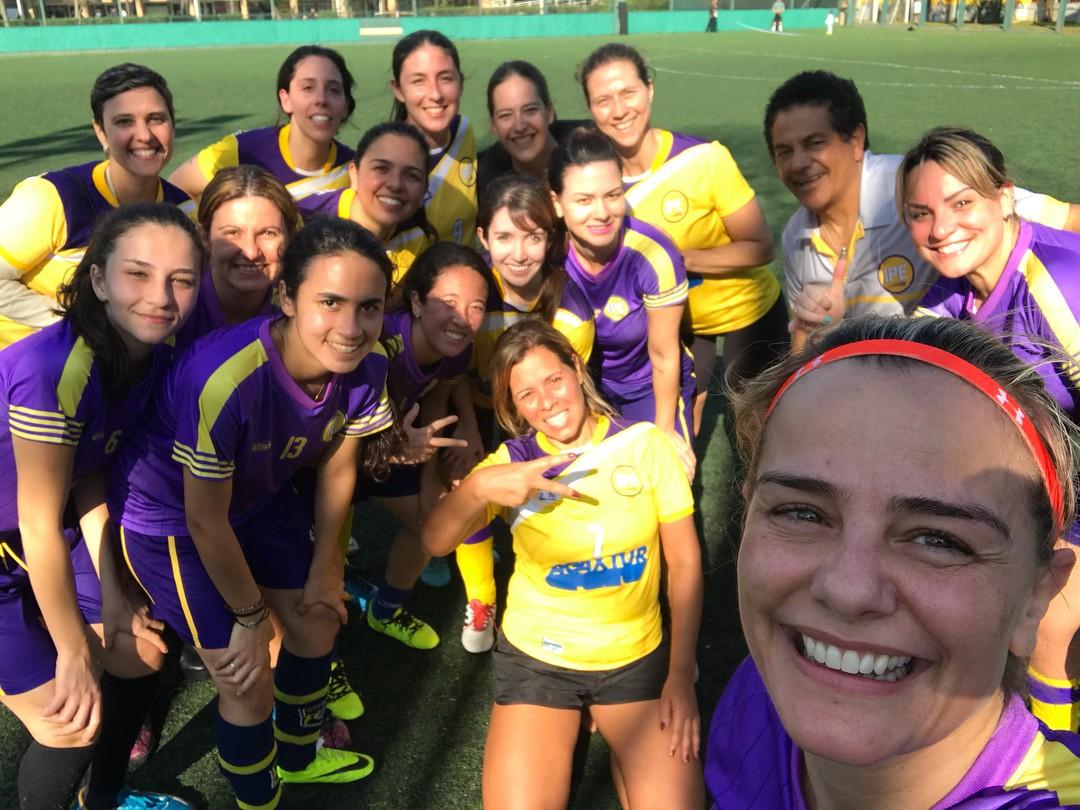 Milene Domingues é embaixadora do time feminino do Corinthians Futebol Clube (Foto: Reprodução / Instagram)