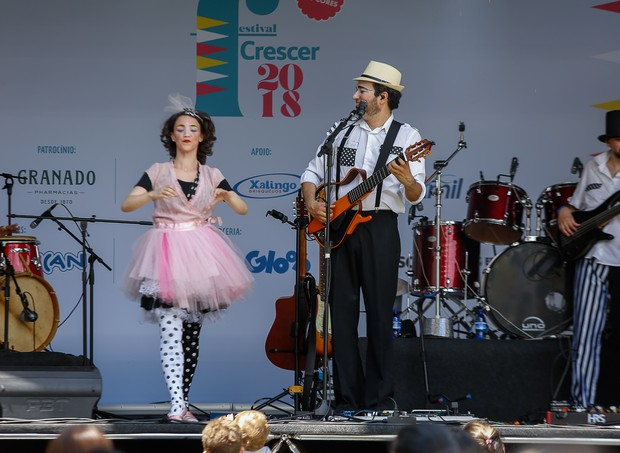 A alegria da Banda Estralo (Foto: Alexandre Di Paula/ Editora Globo)