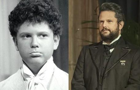 Selton Mello também começou a trabalhar cedo. Sua primeira novela na Globo foi 'Corpo a corpo', aos 12 anos. Atualmente, está no ar em 'Nos tempos do Imperador' Reprodução