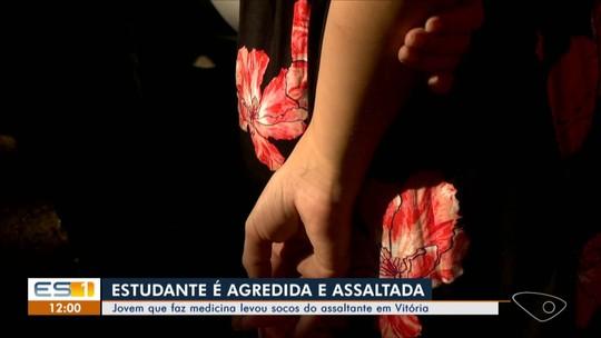 Estudante é agredida e tem carro levado por asaltantes em Vitória