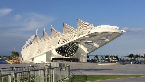 O Museu do Amanhã superou concorrentes como o Louvre de Abu Dhabi e o Museu de Vancouver  (Foto: Cristina Índio do Brasil/Agência Brasil)