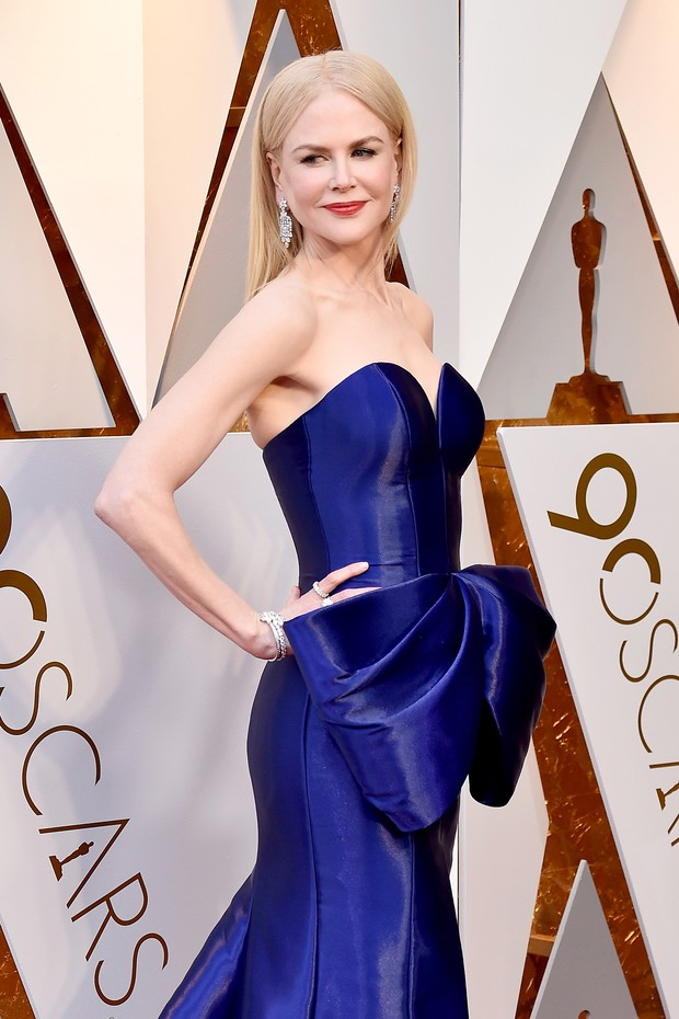 HOLLYWOOD, CA - MARCH 04:  Nicole Kidman attends the 90th Annual Academy Awards at Hollywood & Highland Center on March 4, 2018 in Hollywood, California.  (Photo by Frazer Harrison/Getty Images) (Foto: Getty Images)