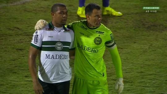Melhores momentos, gol, chapéu de costas e polêmica: assista aos vídeos de Guarani 0x1 Coritiba