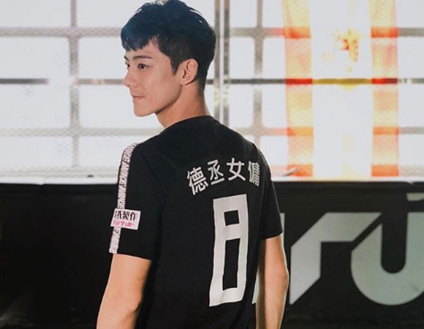 Yu chegou a perder a consciência durante o jogo (Foto: Reprodução/Instagram)